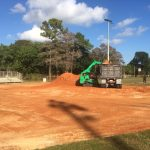 construction for tamarac ball fields