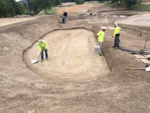 meadowbrook bunker construction