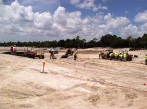 construction at Mirasol