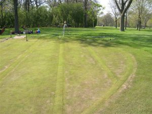 golf green courtesy of XGD systems at Merion