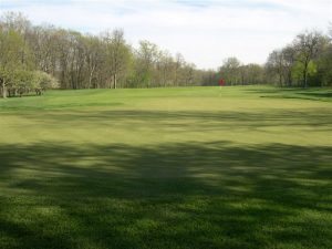fairway with golf hole at Merion