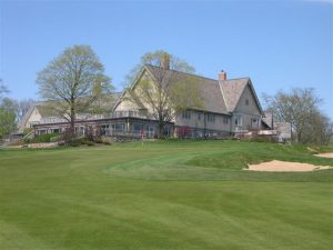merion golf club with trees