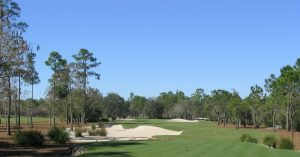 Naples National fairway and bunkers
