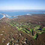 Noyac Golf Club Aerial shot