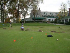 Oakmont grounds digging