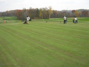 green maintenance at Oakmont
