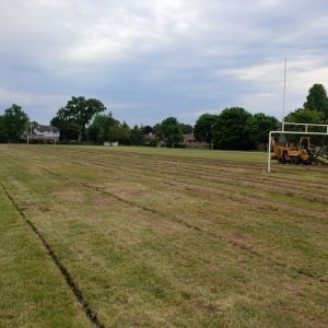 oakridge soccer club on clean trenches