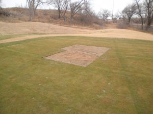 sectioning off land at Meadowbrook country club